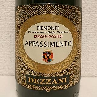 Dezzani Appassimento Rosso Passito(デッツァーニ アパッシメント ロッソ・パッシート)