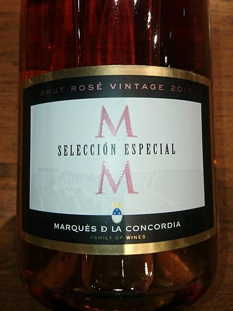 Marqués de la Concordia Selección Especial Brut Rosé Vintage