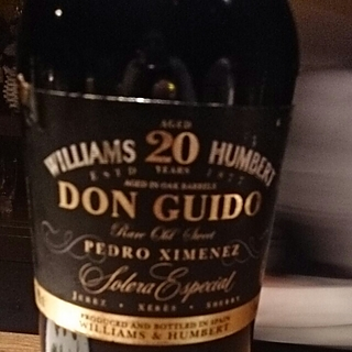 Williams & Humbert Don Guido Pedro Ximenez 20 Years