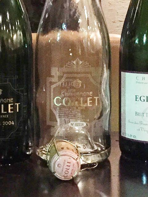 Champagne Collet Rosé Dry Collection Privée