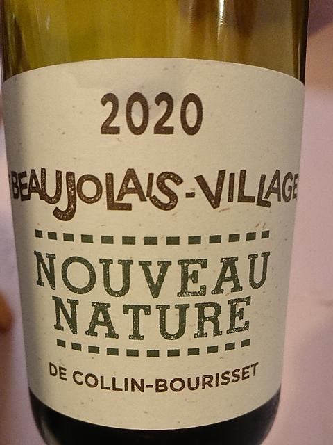 Collin Bourisset Beaujolais Villages Nouveau Nature(コラン・ブリセ ボージョレ・ヴィラージュ ヌーヴォー ナチュール)