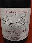 Dom. de la Perruche Clos de Chaumont Saumur Champigny(2017)