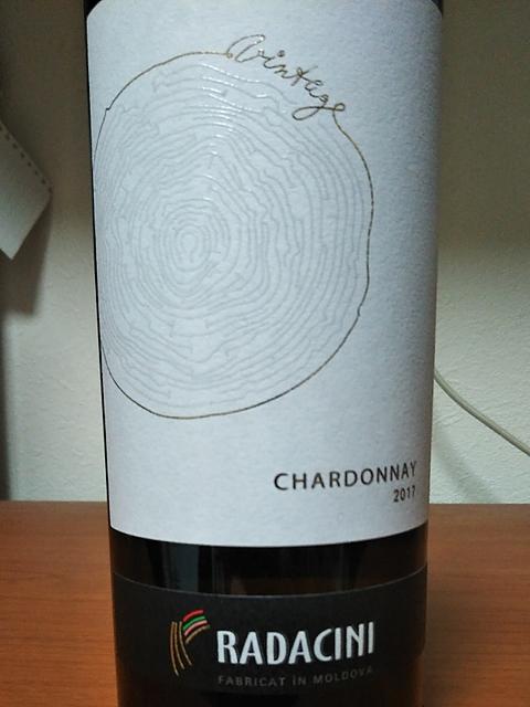Radacini Vintage Chardonnay(ラダチーニ ヴィンテージ シャルドネ)