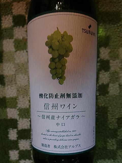 Tsuruya 信州ワイン ナイアガラ 中口(ツルヤ)