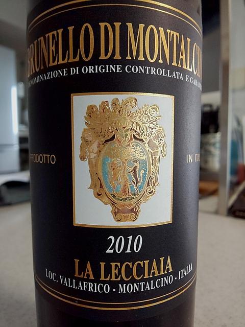 La Lecciaia Brunello di Montalcino(ラ・レッチャイア ブルネッロ・ディ・モンタルチーノ)