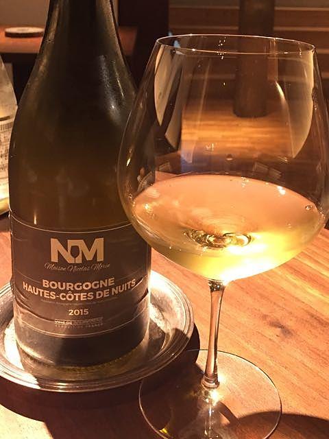 Maison Nicolas Morin Bourgogne Hautes Côtes de Nuits Blanc(メゾン・ニコラ・モラン ブルゴーニュ・オート・コート・ド・ニュイ ブラン)