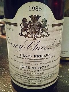 Dom. Joseph Roty Gevrey Chambertin Clos Prieur(ドメーヌ・ジョセフ・ロティ ジュヴレ・シャンベルタン クロ・プリウール)