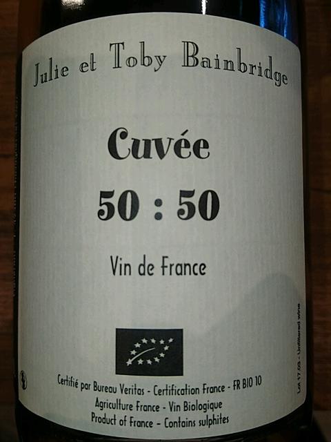 Julie et Toby Bainbridge Cuvée 50:50