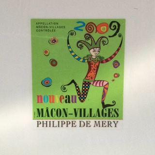 Philippe de Mery Macon Villages Nouveau(フィリップ・ド・メリー マコンヴィラージュ ヌーボー)
