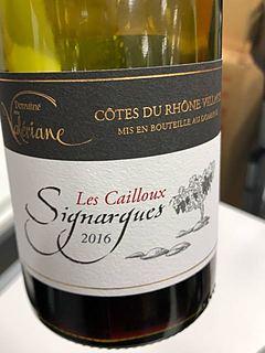 Dom. de la Valériane Côtes du Rhône Village Signargues Les Cailloux(ドメーヌ・ド・ラ・ヴァレリアーヌ コート・デュ・ローヌ・ヴィラージュ シニャルグ レ・カイユ)