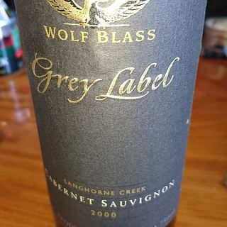 Wolf Blass Grey Label Langhorne Creek Cabernet Sauvignon
