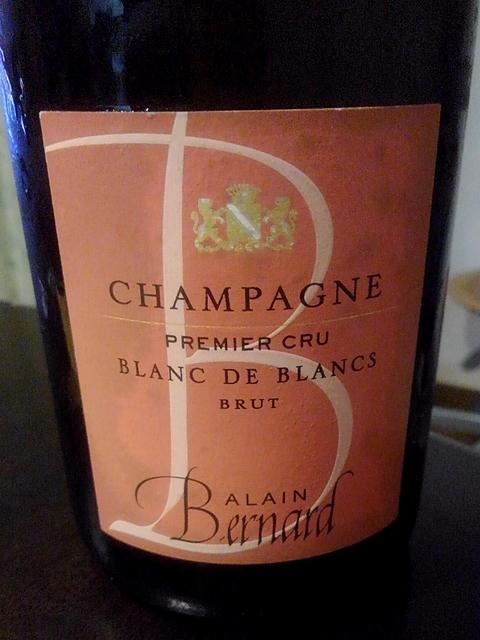 Alain Bernard Blanc de Blancs Brut 1er Cru(アラン・ベルナール ブラン・ド・ブラン ブリュット プルミエ・クリュ)