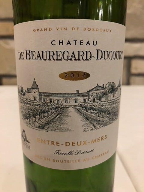 Ch. de Beauregard Ducourt Blanc(シャトー・ド・ボールガール・デュコート ブラン)