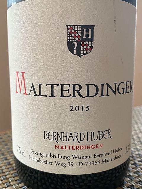 Bernhard Huber Malterdinger Spätburgunder trocken