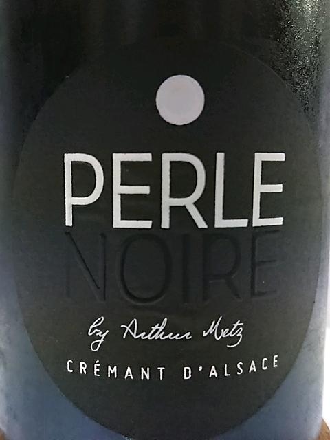 Perle Noire by Arthur Metz Crémant d'Alsace(ペル・ノワール・バイ・アルトゥール・メッツ クレマン・ダルザス)
