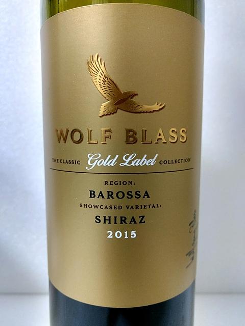 Wolf Blass Gold Label Barossa Shiraz