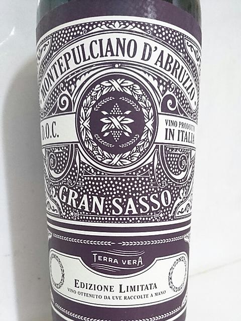 Gran Sasso Montepulciano d'Abruzzo(グラン・サッソ モンテプルチャーノ・ダブルッツォ)