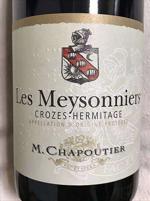M. Chapoutier Les Meysonniers Crozes Hermitage Rouge