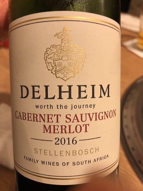 Delheim Cabernet Sauvignon Merlot