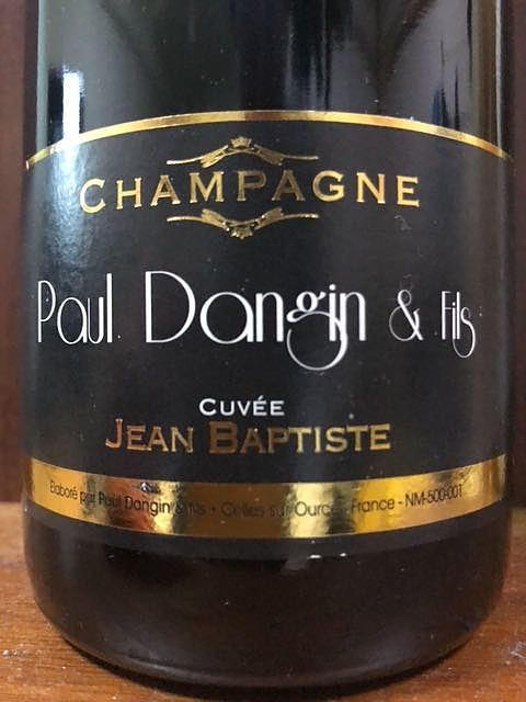 Paul Dongin & Fils Cuvée Jean Bapitiste(ポール・ダンジャン・エ・フィス キュヴェ・ジャン・バティスト)