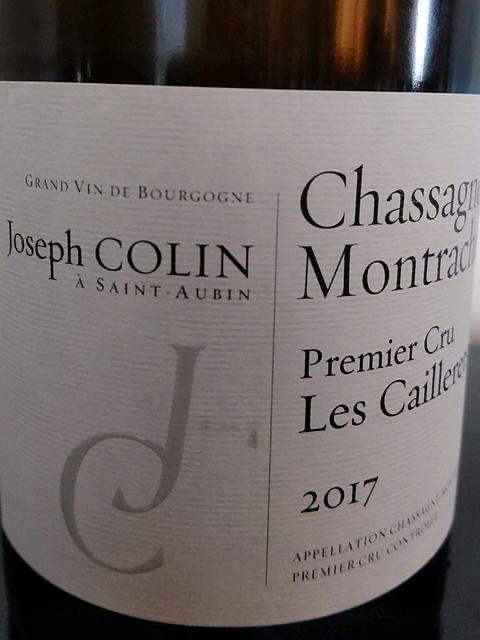 Joseph Colin Chassagne Montrachet 1er Cru Les Caillerets