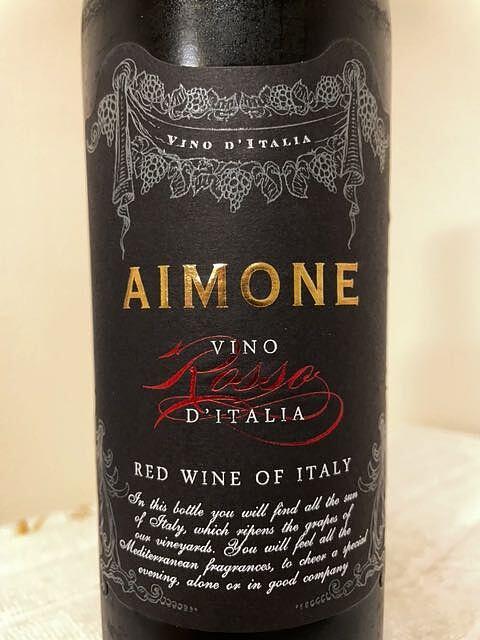Aimone Vino Rosso d'Italia(アイモネ ヴィーノ・ロッソ ディターリア)