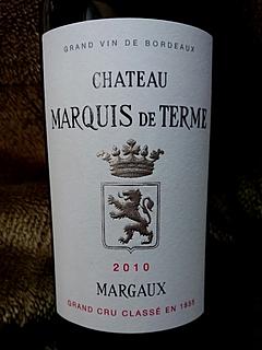 Ch. Marquis de Terme(シャトー・マルキ・ド・テルム)