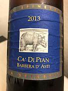 La Spinetta Ca' di Pian Barbera d'Asti(2013)