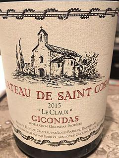 Ch. de Saint Cosme Gigondas Le Claux(シャトー・ド・サンコム ジゴンダス レ・クロー)