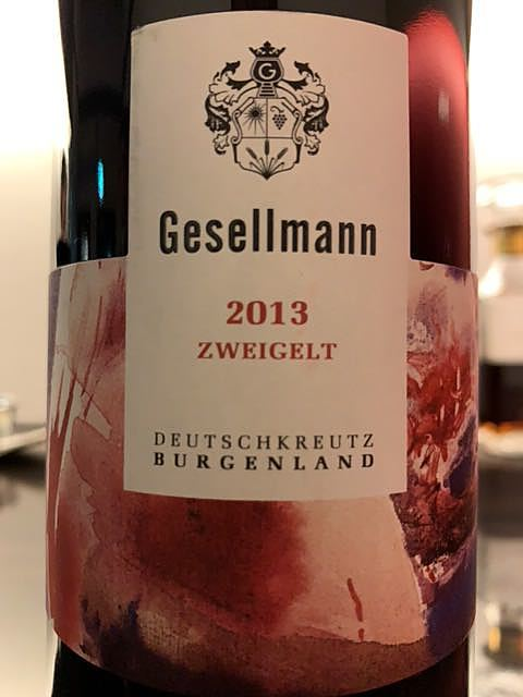 Gesellmann Zweigelt(ゲゼルマン ツヴァイゲルト)