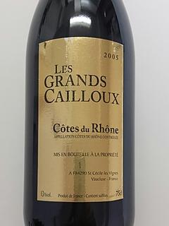 Les Grands Cailloux Côtes du Rhône