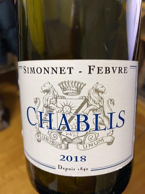 Simonnet Febvre Chablis(シモネ・フェブル シャブリ)