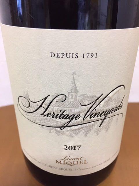 Laurent Miquel Heritage Vineyards Rouge(ローラン・ミケル エリタージュ・ヴィンヤーズ ルージュ)