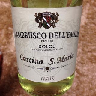 Cascina S. Maria Lambrusco dell'Emilia Bianco Dolce