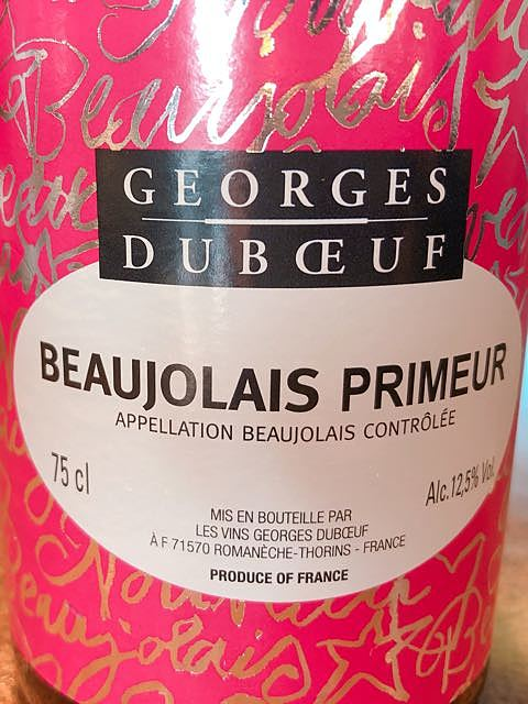 Georges Duboeuf Beaujolais Primeur