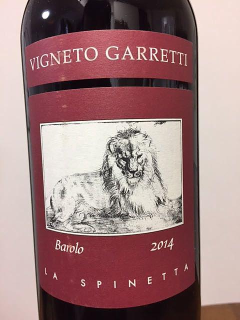 La Spinetta Barolo Vigneto Garretti