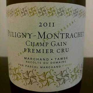 Marchand Tawse Puligny Montrachet Champ Gain(マルシャン・トーズ ピュリニィ・モンラッシェ シャン・ガン)