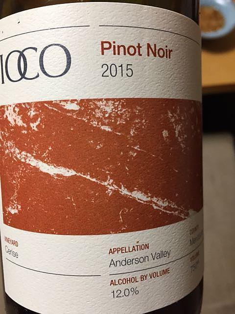 Lioco Cerise Pinot Noir Anderson Valley(リオコ セリーズ ピノ・ノワール アンダーソン・ヴァレー)