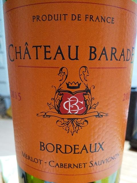 Ch. Barade Cuvée Vieilles Vignes