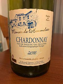Manoir de l'Hommelais Chardonnay