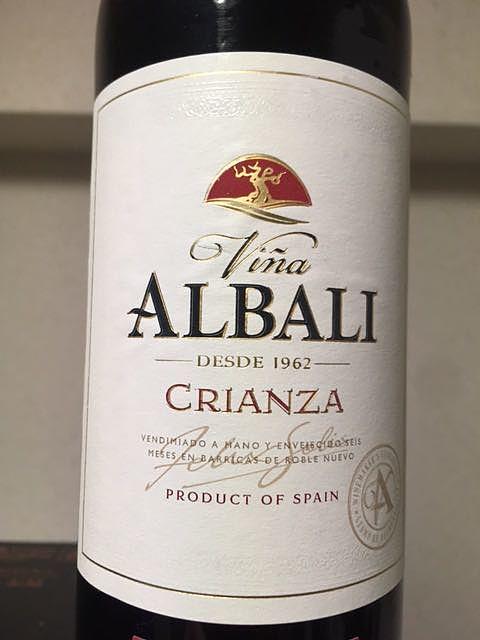 Viña Albali Crianza(ビニャ・アルバリ クリアンサ)