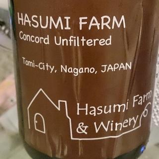 Hasumi Farm Concord Unfiltered