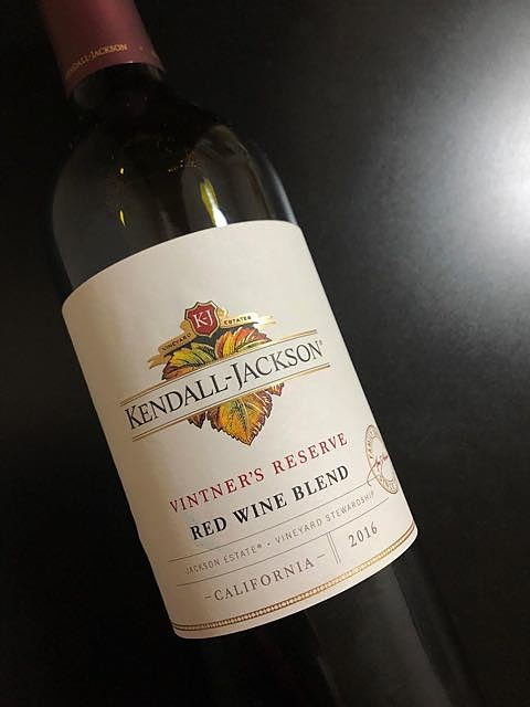 Kendall Jackson Vintner's Reserve Red Wine Blend 2016(ケンダル・ジャクソン ヴィントナーズ・リザーヴ レッド・ワイン・ブレンド)