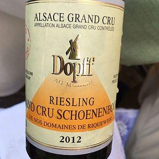 Dopff & Irion Riesling Grand Cru Schoenbourg