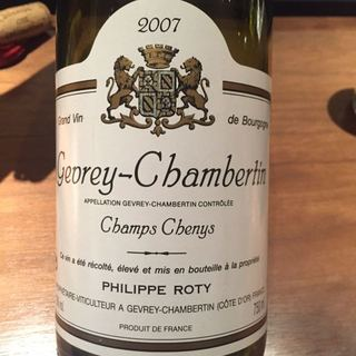 Dom. Joseph Roty Gevrey Chambertin Cuvée de Champs Chenys