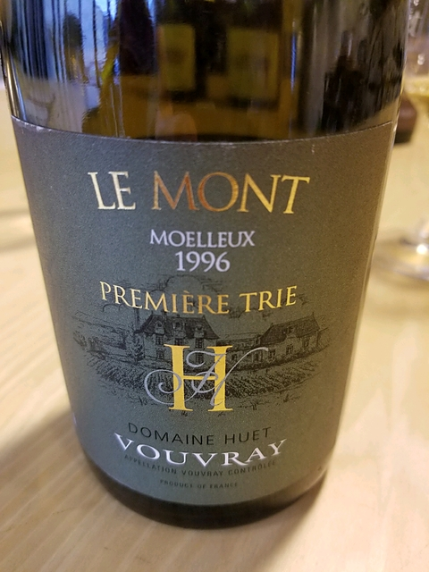 Dom. Huet Vouvray Le Mont Premiere Trie Moelleux Première Trie