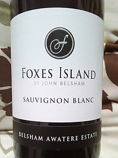 Foxes Island by John Belsham Sauvignon Blanc(フォクシーズ・アイランド バイ・ジョン・ベルシャム ソーヴィニヨン・ブラン)
