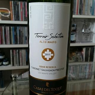 Casas del Toqui Terroir Selection Gran Reserva Cabernet Sauvignon(カサ・デル・トキ テロワール・セレクション グラン・レゼルヴァ カベルネ・ソーヴィニヨン)