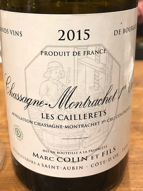 Marc Colin et Fils Chassagne Montrachet 1er Cru Les Caillerets