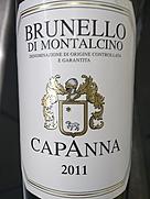 カパンナ ブルネッロ・ディ・モンタルチーノ(2011)